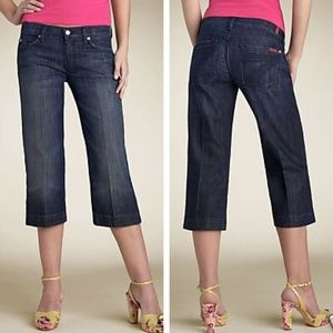 7 For All Mankind Crop Dojo Jeans